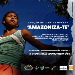 Einladung Start der Kampagne Amazoniza-te